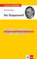 """Lektürehilfen Hermann Hesse """"Der Steppenwolf"""""""