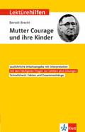 """Lektürehilfen Bertolt Brecht """"Mutter Courage und ihre Kinder"""""""