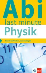 Abi last minute Physik