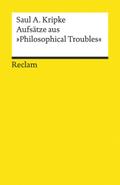 """Aufsätze aus """"Philosophical Troubles"""""""