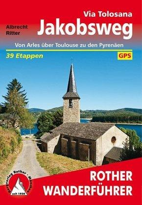 Rother Wanderführer Jakobsweg - Via Tolosana