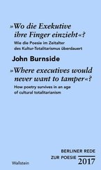 """""""Wo die Exekutive Ihre Finger einzieht?""""/""""Where executives would never want to tamper?"""""""