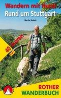Rother Wanderbuch Wandern mit Hund Rund um Stuttgart