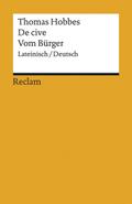 De cive / Vom Bürger