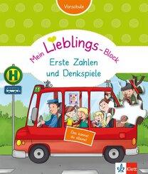 Klett Mein Lieblings-Block - Erste Zahlen und Denkspiele