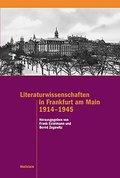 Literaturwissenschaften in Frankfurt am Main 1914-1945
