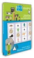 Selbstständig Deutsch lernen ohne Vorkenntnisse - einfache Wörter: Kleidung und Körper, 1 CD-ROM (Schullizenz)
