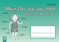 """Mein Der-die-das-Heft: Wortschatz """"Mein Körper"""""""