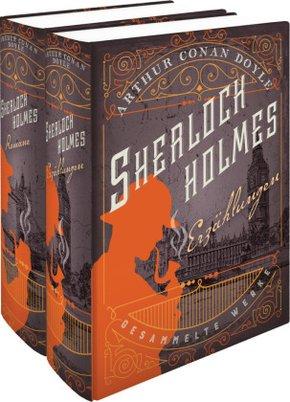 Sherlock Holmes - Erzählungen - Gesammelte Werke (2 Bände)