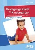 Bewegungsspiele im Kindergarten für Unter-3-Jährige