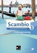 Scambio B: Prüfungstraining, m. Audio-CD; Bd.3
