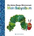 Die kleine Raupe Nimmersatt - Mein Babyalbum - Blau