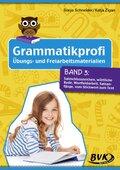 Grammatikprofi: Übungs- und Freiarbeitsmaterialien - Bd.3