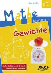 Mathe lernen - Gewichte