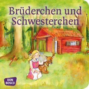 Brüderchen und Schwesterchen. Mini-Bilderbuch