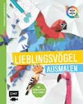 Tierisch geometrisch - Malen nach Zahlen: Lieblingsvögel ausmalen