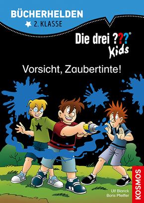 Die drei ??? Kids, Bücherhelden 2. Klasse - Vorsicht, Zaubertinte!