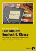 Last Minute: Englisch 5. Klasse