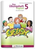 Das Übungsheft Englisch - Klasse 5