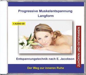 Progressive Muskelentspannung Langform, Audio-CD