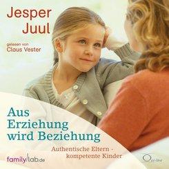 Aus Erziehung wird Beziehung, 4 Audio-CDs