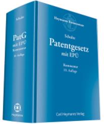 Patentgesetz (PatG) mit Europäischem Patentübereinkommen, Kommentar