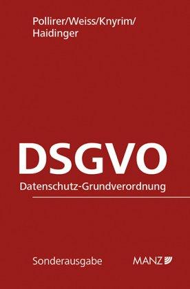 DSGVO, Datenschutz-Grundverordnung (f. Österreich)