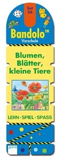 Bandolo (Spiele): Blumen, Blätter, kleine Tiere (Kinderspiel); Set.56
