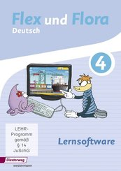 Flex und Flora - Deutsch: Lernsoftware 4, 1 CD-ROM