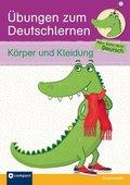 Übungen zum Deutschlernen (Grammatik) - Körper und Kleidung