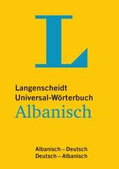 Langenscheidt Universal-Wörterbuch Albanisch - für deutsche und albanische Muttersprachler