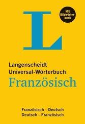Langenscheidt Universal-Wörterbuch Französisch - mit Bildwörterbuch