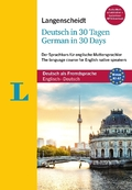 Langenscheidt Deutsch in 30 Tagen - German in 30 days, m. 2 Audio-CDs, 1 MP3-CD und MP3-Download