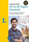 Langenscheidt Fit in 30 Tagen - Russisch - Buch, 2 Audio-CDs, Audio-Wortschatztrainer auf MP3-CD