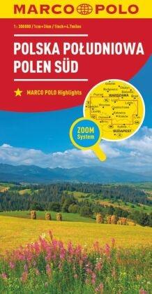 MARCO POLO Karte Polen Süd 1:300 000; Polska Poludniowa / South Poland / Pologne Sud