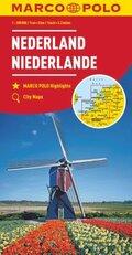 MARCO POLO Karte Niederlande 1:200 000; Nederland / Netherlands / Pays-Bas
