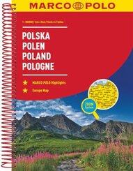 Poland Marco Polo Road Atlas - Polska / Poland / Pologne