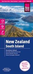Reise Know-How Landkarte Neuseeland, Südinsel (1:550.000) - New Zealand - South Island - Nouvelle Zélande - Ile du Sud / Nueva Zelanda - Isla Sur