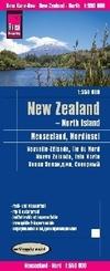 Reise Know-How Landkarte Neuseeland, Nordinsel (1:550.000); New Zealand - North Island