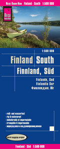 Reise Know-How Landkarte Finnland, Süd (1:500.000); Finland,South / Finlande, Sur / Findlandia, Sur
