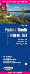 Reise Know-How Landkarte Finnland, Süd (1:500.000); Finland,South / Finlande, Sur / Findlandia, Sur