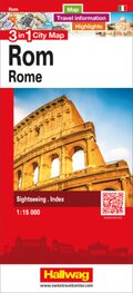 3 in 1 City Map Rom / Rome