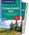 Kompass Wanderführer Schwarzwald Süd mit Naturpark, Kaiserstuhl und Markgräflerland, m. 1 Karte