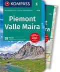 Kompass Wanderführer Piemont - Valle Maira, m. 1 Karte