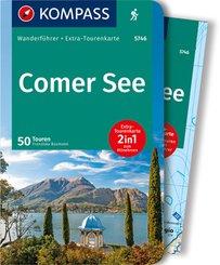 KOMPASS Wanderführer Comer See, m. 1 Karte