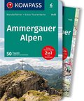 KOMPASS Wanderführer Ammergauer Alpen, m. 1 Karte