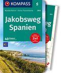 Kompass Wanderführer Jakobsweg Spanien, m. 1 Karte