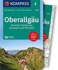 KOMPASS Wanderführer Oberallgäu, Zwischen Bodensee, Kempten und Pfronten, m. 1 Karte