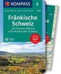 KOMPASS Wanderführer Fränkische Schweiz mit Oberem Maintal und Hersbrucker Schweiz, m. 1 Karte
