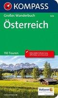 Kompass Großes Wanderbuch Österreich